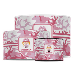 Pink Camo Drum Lamp Shade (Personalized)