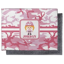 Pink Camo Microfiber Screen Cleaner (Personalized)