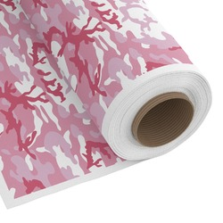 Pink Camo Custom Fabric by the Yard (Personalized)
