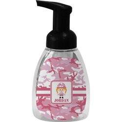 Pink Camo Foam Soap Bottle (Personalized)