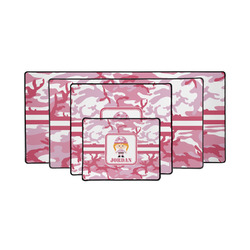 Pink Camo Gaming Mouse Pad (Personalized)