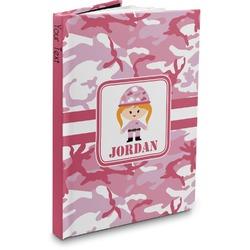 Pink Camo Hardbound Journal (Personalized)