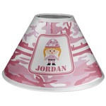 Pink Camo Coolie Lamp Shade (Personalized)