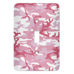 Pink Camo Light Switch Covers (Personalized)