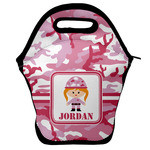 Pink Camo Lunch Bag w/ Name or Text