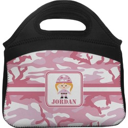 Pink Camo Lunch Tote (Personalized)