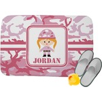 Pink Camo Memory Foam Bath Mat (Personalized)