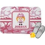 Pink Camo Memory Foam Bath Mat (Personalized)