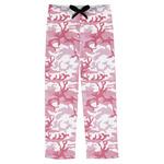 Pink Camo Mens Pajama Pants (Personalized)