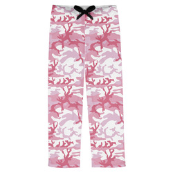 Pink Camo Mens Pajama Pants (Personalized)