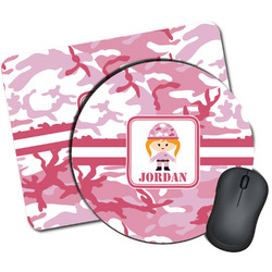 Pink Camo Mouse Pads (Personalized)