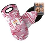 Pink Camo Neoprene Oven Mitt (Personalized)