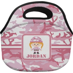 Pink Camo Lunch Bag (Personalized)