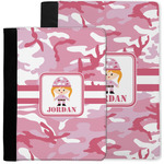 Pink Camo Notebook Padfolio w/ Name or Text