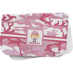 Pink Camo Burp Cloth (Personalized)