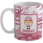 Pink Camo Coffee Mug (Personalized)