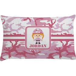 Pink Camo Pillow Case (Personalized)