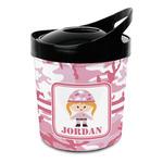 Pink Camo Plastic Ice Bucket (Personalized)