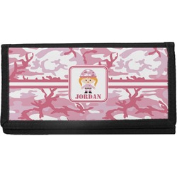 Pink Camo Checkbook Cover (Personalized)