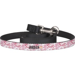 Pink Camo Pet / Dog Leash (Personalized)