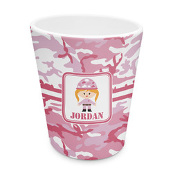 Pink Camo Plastic Tumbler 6oz (Personalized)