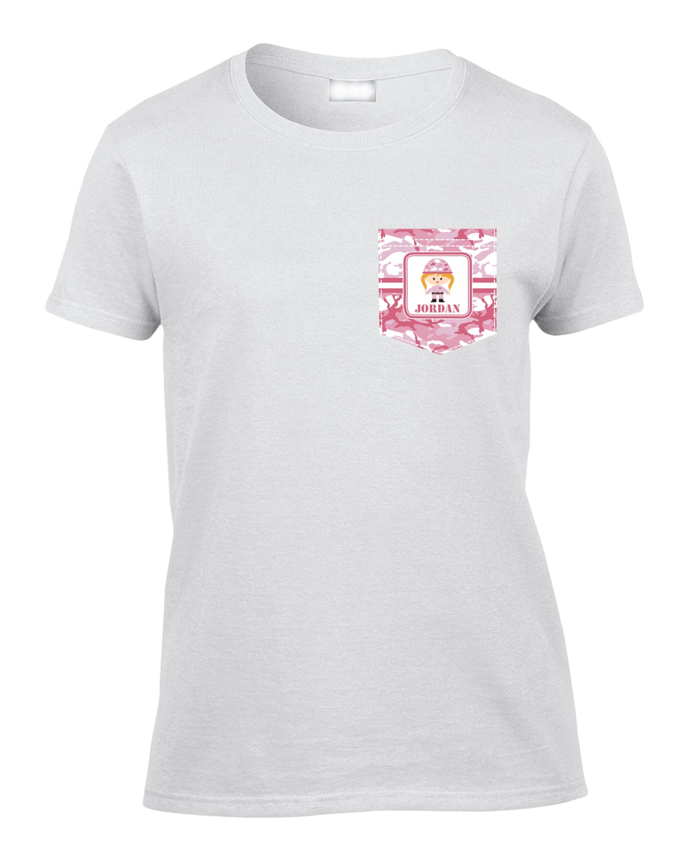 Pink Camo Womens Shirts DREAMWORKS