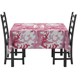 Pink Camo Tablecloth (Personalized)
