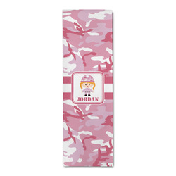 Pink Camo Runner Rug - 3.66'x8' (Personalized)