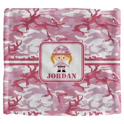Pink Camo Security Blanket (Personalized)