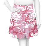 Pink Camo Skater Skirt (Personalized)