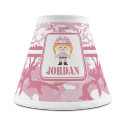 Pink Camo Chandelier Lamp Shade (Personalized)
