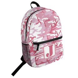 Pink Camo Student Backpack (Personalized)