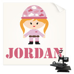 Pink Camo Sublimation Transfer (Personalized)