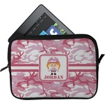 Pink Camo Tablet Case / Sleeve (Personalized)