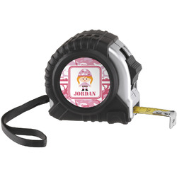 Pink Camo Tape Measure (25 ft) (Personalized)