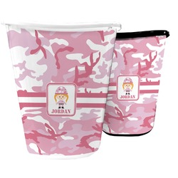 Pink Camo Waste Basket (Personalized)