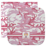 Pink Camo Facecloth / Wash Cloth (Personalized)