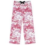 Pink Camo Womens Pajama Pants (Personalized)