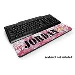 Pink Camo Keyboard Wrist Rest (Personalized)