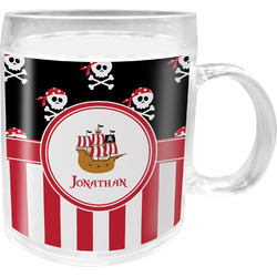 Pirate & Stripes Acrylic Kids Mug (Personalized)