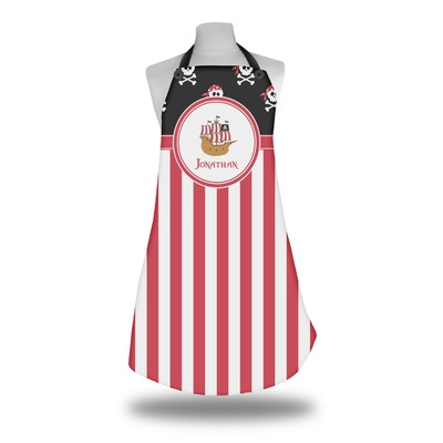Pirate & Stripes Apron (Personalized)