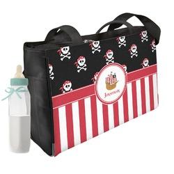 Pirate & Stripes Diaper Bag (Personalized)