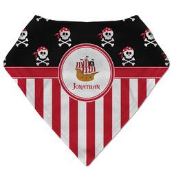 Pirate & Stripes Bandana Bib (Personalized)