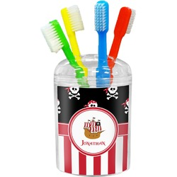 Pirate & Stripes Toothbrush Holder (Personalized)