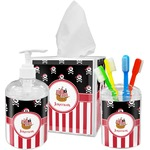 Pirate & Stripes Bathroom Accessories Set (Personalized)