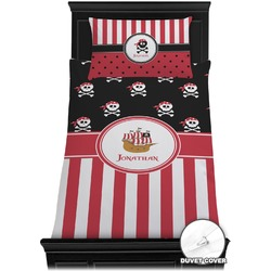 Pirate & Stripes Duvet Cover Set - Toddler (Personalized)