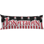 Pirate & Stripes Body Pillow Case (Personalized)