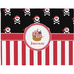 Pirate & Stripes Placemat (Fabric) (Personalized)