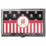 Pirate & Stripes Business Card Case