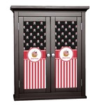 Pirate & Stripes Cabinet Decal - Custom Size (Personalized)